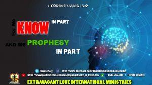 1 Corinthians 13 9