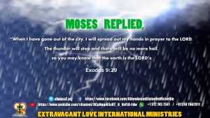 Exodus 9 29