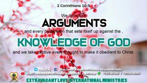 2 Corinthians 10 5