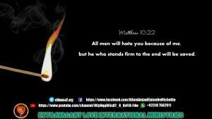 Matthew 10 22