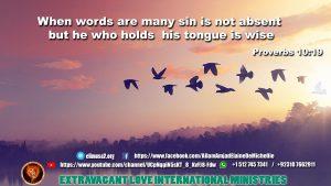 Proverbs 10 19